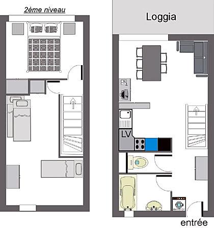 Plan D 39 Appartement En Duplex